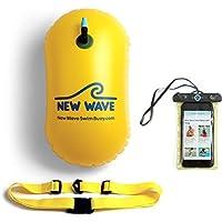 New Wave Swim Bubble - Open Water Triathon Schwimmboje für Freiwasser Schwimmer und Triathleten