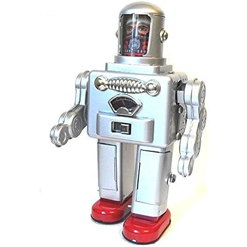 TR2052 astronauta del astronauta de la batería juguete de la lata del robot operado robot retro estaño
