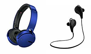 MIRZA Extra Extra Bass XB450 Headphones & Bluetooth Headset for SAMSUNG GALAXY ON 7(XB 450 Headphones,With MIC,Extra Bass,Headset,Sports Headset,Wired Headset & Jogger Bluetooth Headset,Sports Headset,Gym Headset )