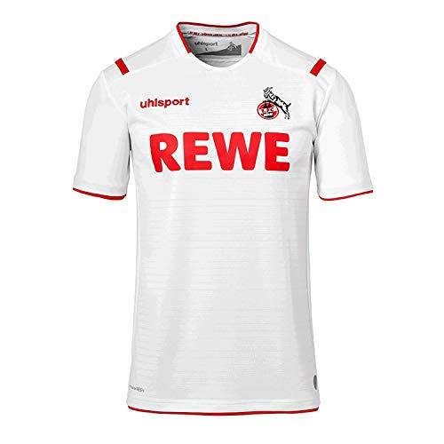 uhlsport 1. FC Köln Trikot Home 2019/2020 Herren weiß/rot, L