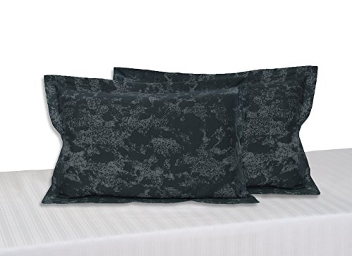 Swayam Deal Collection 2 Piece Cotton Pillow Cover - Grey