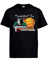 Camiseta NBA Minnesota Timberwolves Baloncesto Basketball fan I Love This Game
