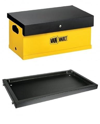 VAN VAULT MOBI & DOCKING STATION Site Security Toolbox 70mm Disk Lock & 3 keys SIZE: 780mm X 380mm X
