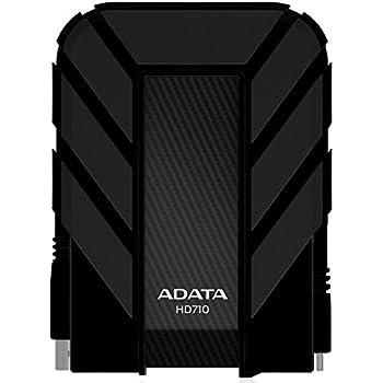 ADATA Dash Drive Durable HD710 Portable External Hard Drive, Black, 500GB