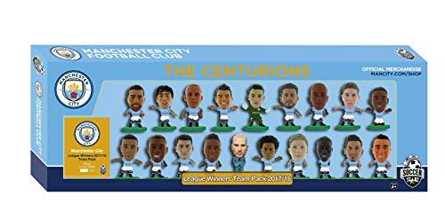 SoccerStarz MCTP19 - Juego de Figuras de los ganadores de la Liga del Hombre (2017/18), Color Verde