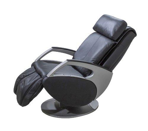 Limitierte Auflage in silber: Massagesessel | Massagestuhl Leder schwarz oder beige Keyton Dynamic - Top Angebot von welcon.de