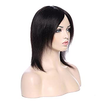 Natural Black Virgin Indian Human Hair Wig Silk Top Base Full Lacelace Wigs With Baby Hair Real Curly Wavy Bob Remy Hot Glueless Long Thick Wig 1