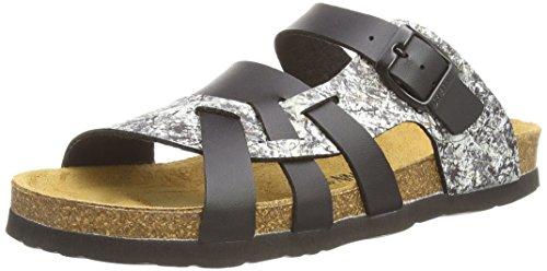 Dr. Brinkmann 700853, Chaussures de Claquettes femme Noir - Noir