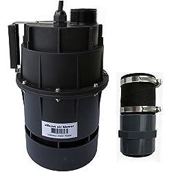"""Gebläse 230V 700W mit integriertem Druckwellenschalter Anschluss 1 1/2""""/50mm Schlauchmuffee"""