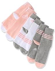 adidas Lk 3Pp Calcetines, Niños, Gris (Brgrin / Blanco / Corneb), 27/30