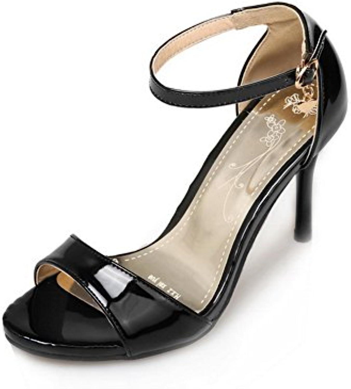 3ce6a7188959 BalaMasa Womens Sandals Womens High-Heel Huarache Sandals Urethane Sandals  4913 ASL04788 B07DQVT4RX Parent 629348e
