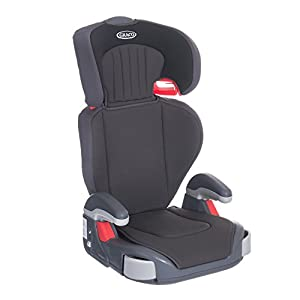 Graco Junior Maxi Lightweight Highback Booster Car Seat, Group 2/3, Midnight Black Maxi-Cosi Booster car seat for children from 15 to 36 kg (3.5 to 12 years) Grows along with your child thanks to the easy headrest and backrest adjustment from the top Patented AirProtect technology for extra protection of child's head 9