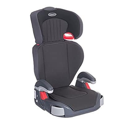 Graco Junior Maxi Lightweight Highback Booster Car Seat, Group 2/3, Midnight Black  I will take action now