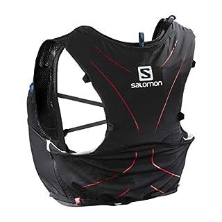 Salomon Advanced Skin 5 Set Lightweight Hydration Pack, 5 Litre, Black/Red, Medium/Large