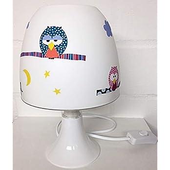 ✿ Tischlampe ✿ EULE/Owl 2 ✿ Tischleuchte ✿ Schlummerlicht ✿ Nachttischlampe ✿ Lampe ✿