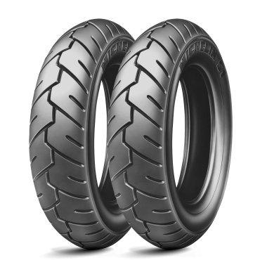 Michelin S1-80/100/R13 46j - A/A/70 DB - Pneu de moto