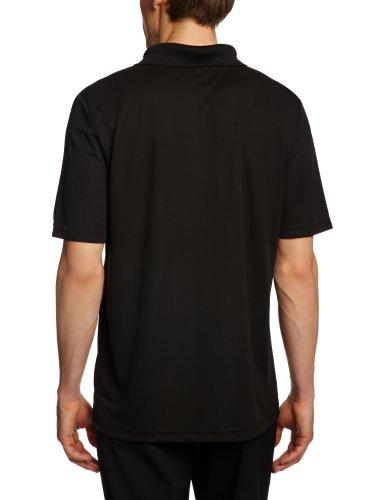 Hanes Herren Polo Shirt Schwarz (Black)