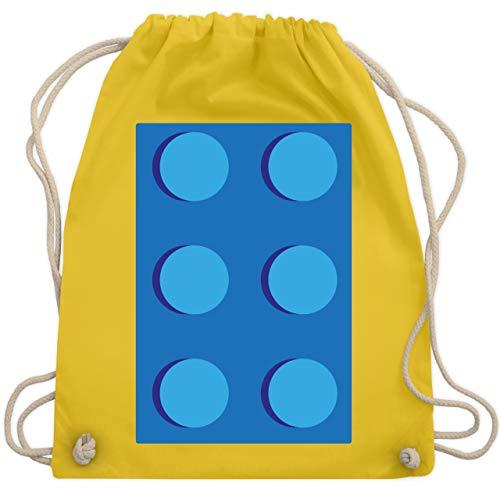Karneval & Fasching - blauer Stein 6 - Unisize - Gelb - WM110 - Turnbeutel & Gym Bag