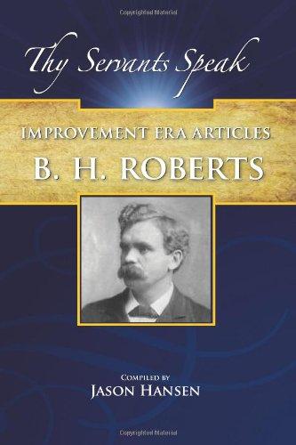 Improvement Era Articles (Thy Servants Speak)