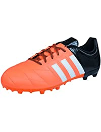 adidas ACE 15.3 FG/AG J Leather - Botas para niño