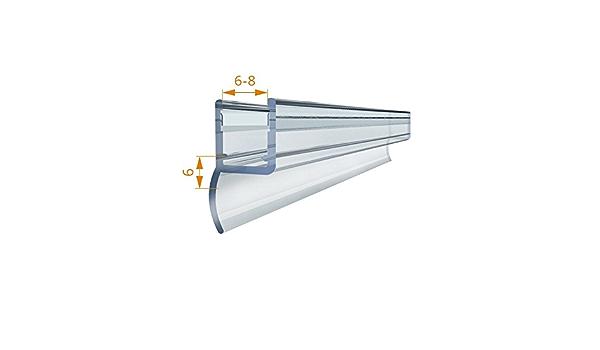 r/éf EC-MAG-367 Joint magn/étique pour cabine de douche en caoutchouc 200/cm gris