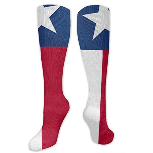 jiilwkie Texas State Garden Flag Compression Sock for Women & Men - Best for Running, Athletic Sports, Flight Travel 19.68
