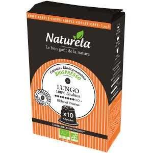 Naturéla - Capsules Lungo N°4 - 90 X 5,5G