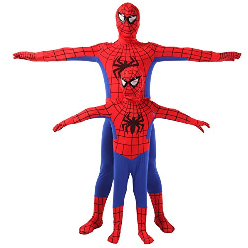 Unbrand super iron spiderman costume bambini mens boys cosplay outfit party fancy dress hero halloween