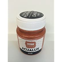 Titan Chalk Paint - Pintura efecto tiza 826 Terracota 100 ml