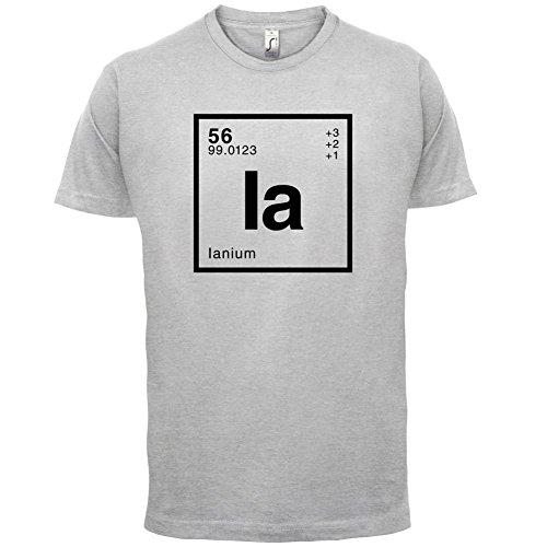 Ian Periodensystem - Herren T-Shirt - 13 Farben Hellgrau