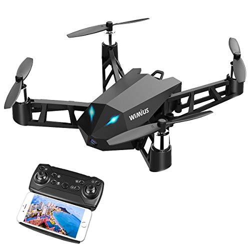 WiMiUS DR10 Drohne mit Kamera, schwarz