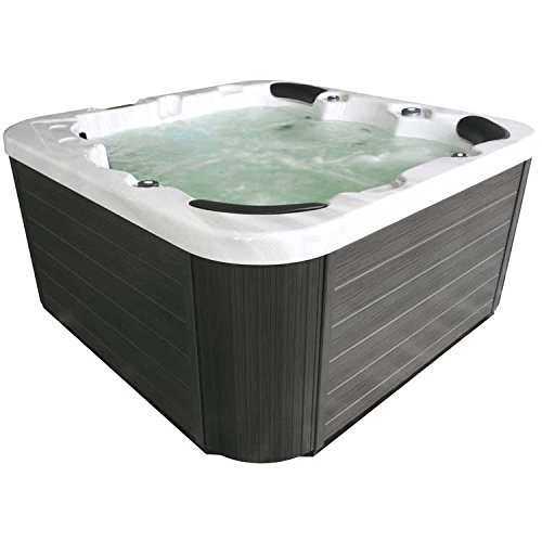 EO-SPA Whirlpool Aussenwhirlpool IN-102 mit Isolierung Sterling Silver 200x200