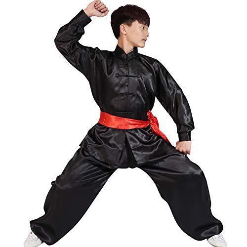 Yudesun Kampfsport Leistung Kleidung - Chinesisch Traditionell Kostüme Erwachsene Erwachsene Kinder Sets Jungen Mädchen Frauen Kung Fu Tai Chi Männer Training Komfort Langarm