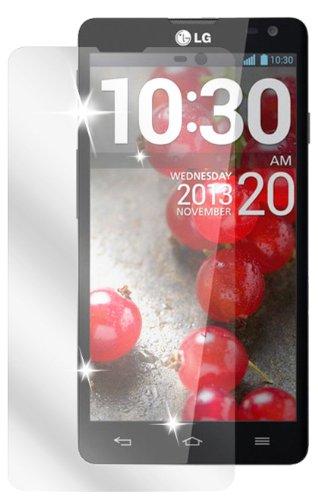 dipos I 2X Schutzfolie klar passend für LG L90 Folie Bildschirmschutzfolie