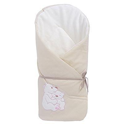 Sevira Kids - Saco de dormir para bebé, color beige
