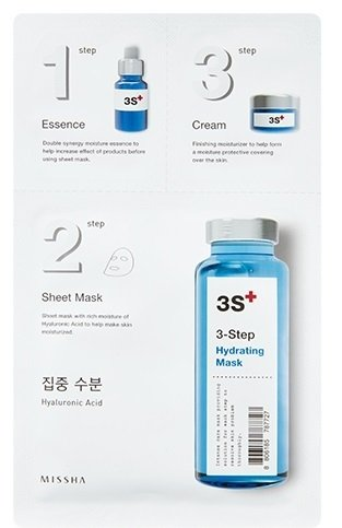 MISSHA 3step Hydrating Mask