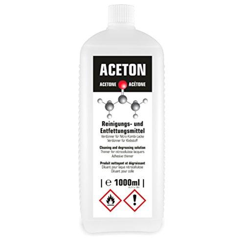 1 Litro de Acetona - Disolvente y Desengrasante