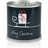 Extragifts Albero di natale in lattina - Merry Christmas (slitta)
