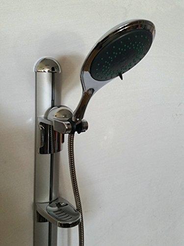 Preisvergleich Produktbild Dusch Set Duscharmatur Brause Garnitur Duschkopf Handbrause Duschstange Bad