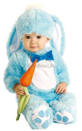 Handsome Lil 'Wabbit - Blau - Baby wachsen - Kinder-Kostüm - 6 bis 12 - Lil Süße Kostüm