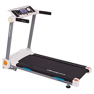 Ultrasport Laufband mit Pulssensoren, Schwarz, 33100000007B