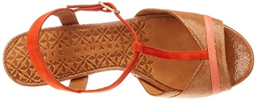 Chie Mihara Damen Belina T-Spangen Sandalen Rouge (stella Terra-ante Russo-taichi Coral)