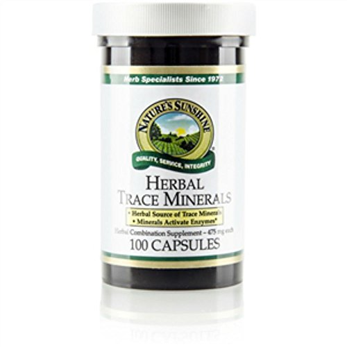 Herbal Trace Minerals (100) by Nature's Sunshine Products (English Manual)