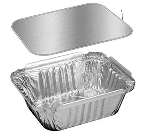 The Baker Celebrations Kastenform, Aluminium, ca. 45 g, silberfarben Silber Holiday Loaf Pan