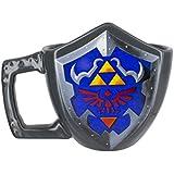 Officiel de The Legend of Zelda 3D sculpté bouclier tasse à café - boîte de Nintendo