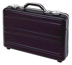 Aluminium Aktenkoffer Notebookkoffer in schwarz