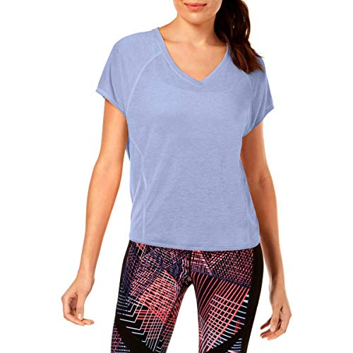 Calvin Klein Relaxed High-Low Hem Convertible Athletic Top