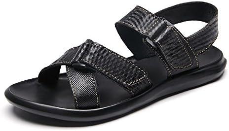 Juans-shoes, Zapatos para Hombre Estilo Clásico de los Hombres Zapatos de Playa Casuales Hebilla Correa Criss...
