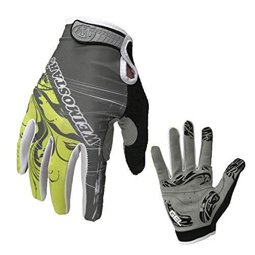 IAMZHL Vollfingerhandschuhe guantes Ciclismo Gel Pad Motorradhandschuhe Sommer MTB Fahrradhandschuhe-a5-XXL