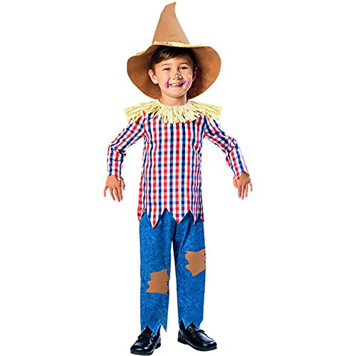 Child Scarecrow Costume 5-6yrs